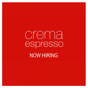 Crema Espresso, The Pines – Certificate III in Hospitality
