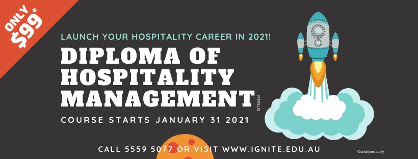 Diploma Hopsitality Management 2021-jan-31
