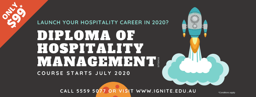Diploma of Hospitality Management July 2020