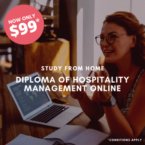 Diploma of Hospitality Management Online – SIT50416